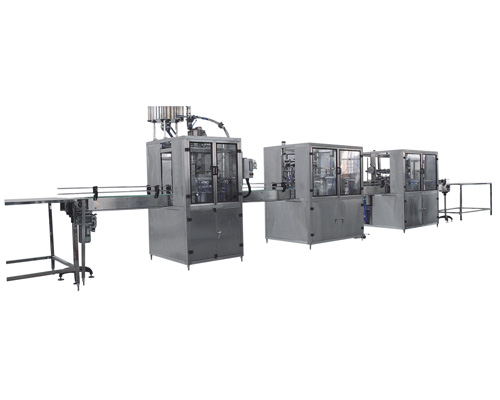 3L-10L washing filling capping machine